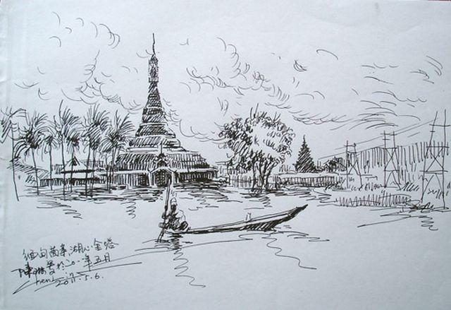 天堂之梦——缅甸油画集(比尔陈琳)