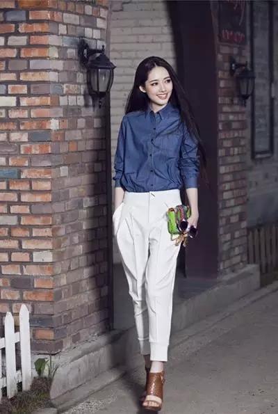 最适合中国姑娘的穿衣搭配,不会穿就跟着学吧!