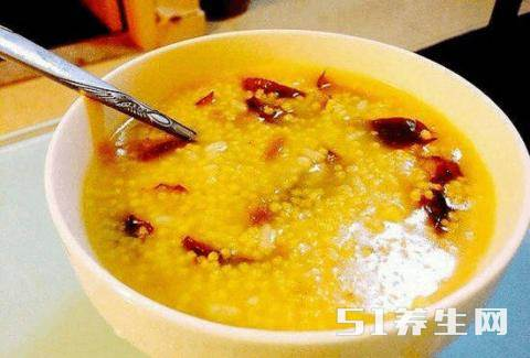 学做营养美味小米粥