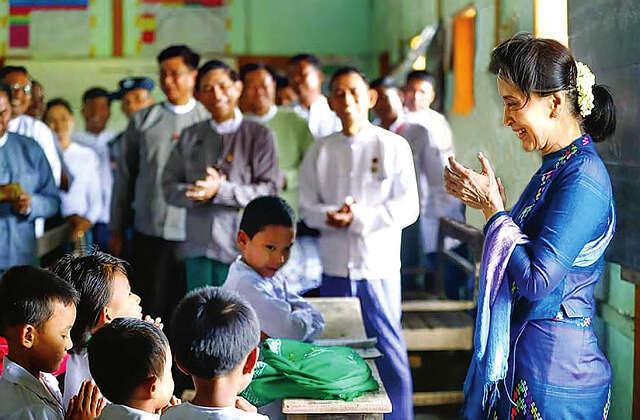 缅甸教育事业的发展