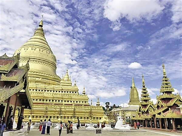 缅甸老百姓的生活与寺庙