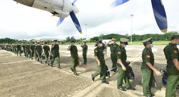 44名军医到钦邦那加自治区医院任职