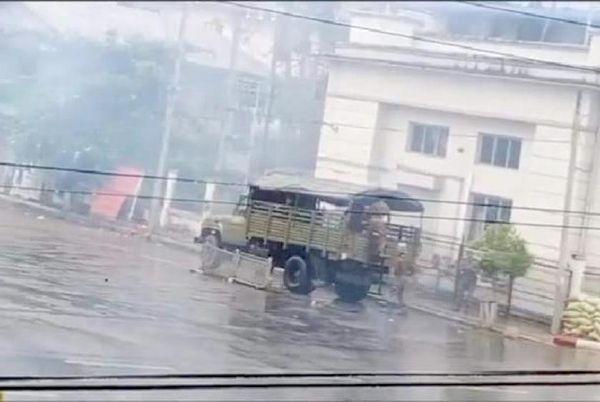缅甸多地发生爆炸事件