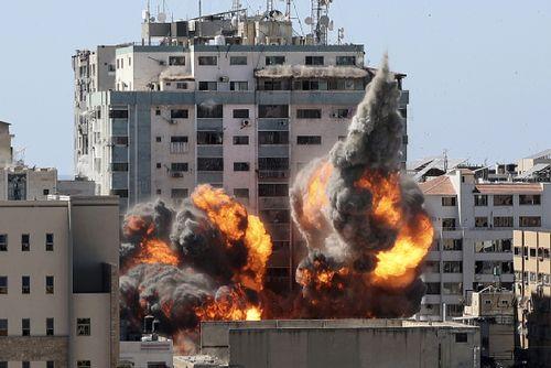 以色列军方炸毁国际媒体大楼 联合国、中国表态