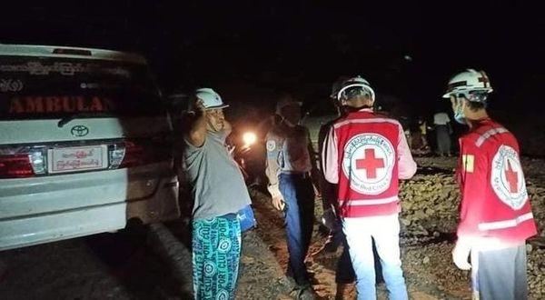 缅甸帕敢矿区再次出现塌方事故 已致1死8伤