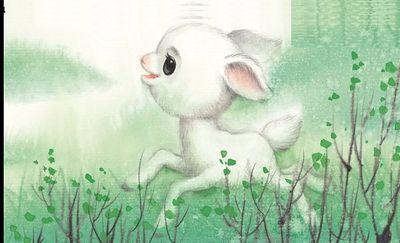 小小山羊练胆量《献给国际儿童节》(草蝶)