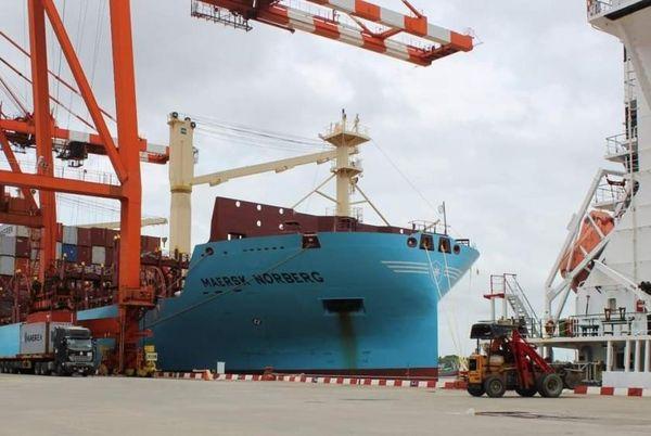 自 5 月以来仰光港口进口货物吞吐量回升