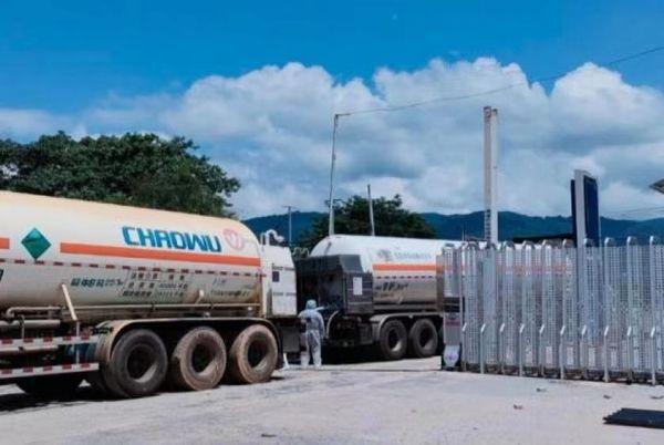 近12天内缅甸进口了455吨液氧和268吨罐装氧气等医药用品