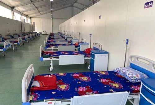 中国在缅甸曼德勒援建的方舱医院将于26日投入使用