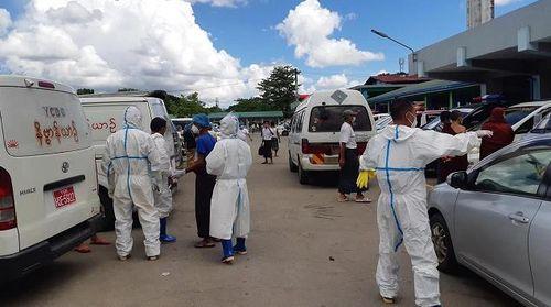 缅甸新增5个地区执行新冠防疫限行令 限行区域接近全国三分之一