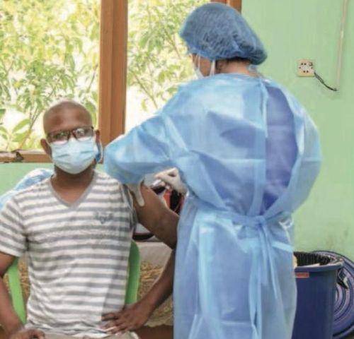 缅甸内比都仰光等地开始接种中国生产的新冠疫苗