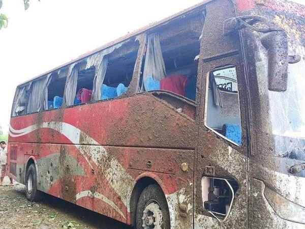 克钦邦联邦公路上发生客车爆炸事件