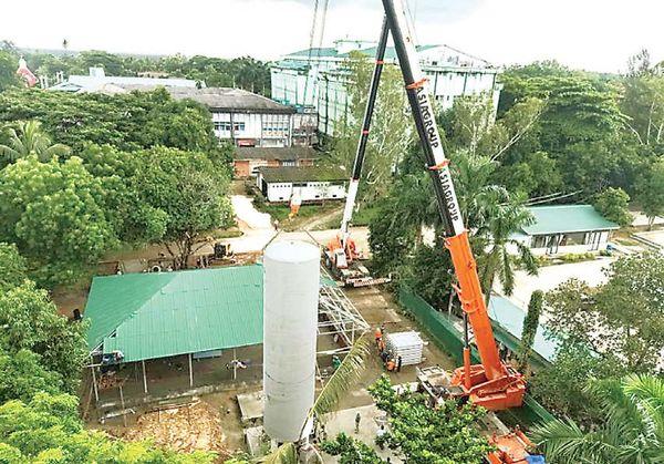 缅甸全国各地大建氧气厂