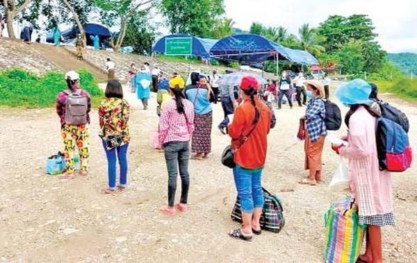 由老挝回归的缅甸劳工们的情况及其所透露出的讯息