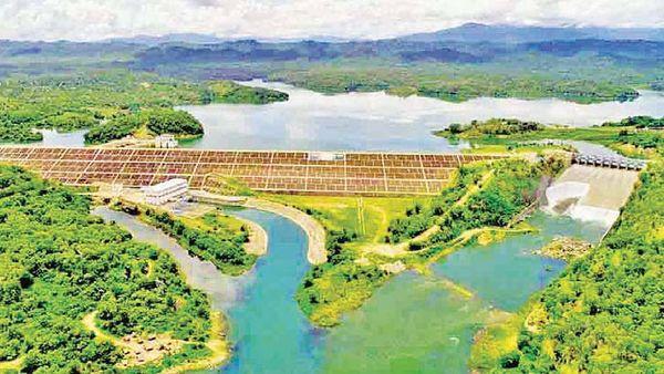 马奎省本漂县基翁基瓦水坝水位持续增高